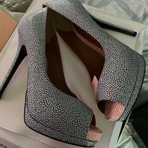 Fendi peep-toe heels